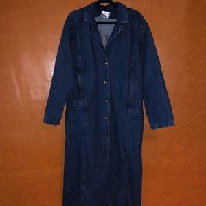 Newport News - long denim coat